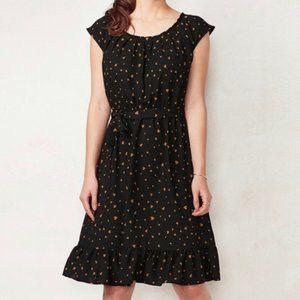 Women's LC Lauren Conrad Pleat Neck Dress - XXL